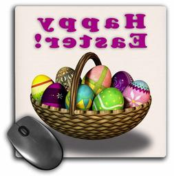 easter eggs basket mouse pad 8 by